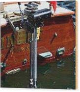 Vancouver Bc Classic Boats Wood Print