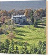 Vanderbilt Mansion Wood Print