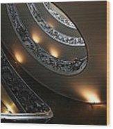 Vatican Stairs Wood Print