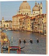 Venice Grand Canal Wood Print