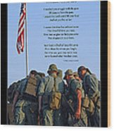 Veterans Remember 3 Wood Print