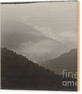 View From Highland Scenic Highway Wood Print
