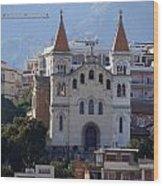 Views Of Messina Italy Wood Print