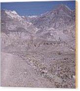 Vintage Death Valley By Lynn Bramkamp Wood Print