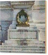 Vittorio Emanuele Monument In Rome Wood Print