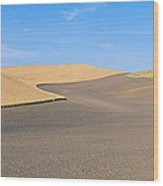 Wheat Fields, S.e. Washington Wood Print