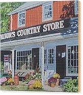 Wilbur's Country Store Wood Print
