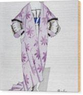 Women's Fashion, 1920 Wood Print