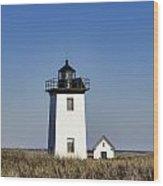 Wood End Lighthouse Wood Print