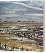 World War II: Normandy Wood Print