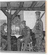 Wwi Soldiers, 1918 Wood Print
