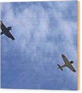 Wwii Planes Wood Print