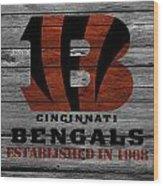 Cincinnati Bengals Wood Print