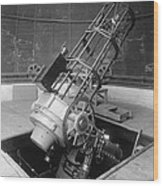 30-inch Telescope, Helwan, Egypt Wood Print by Science Photo Library