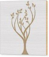 Art Tree Wood Print