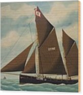 Norfolk  Overstrand Cliffs Wood Print