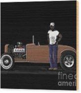 31 Ford Hot Rod Wood Print