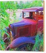 32 Ford Wood Print