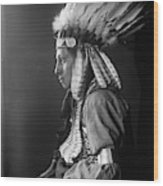 Sioux Native American, C1900 Wood Print