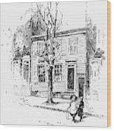 Walt Whitman (1819-1892) Wood Print