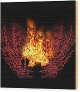 3268 Wood Print