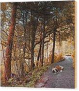 3287 Wood Print