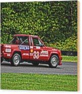 33 Jeep Motorsports Wood Print