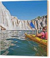 Kayak Wood Print