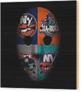 New York Islanders Wood Print
