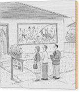 New Yorker September 15th, 2008 Wood Print