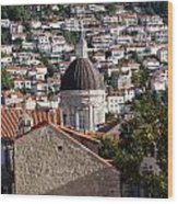 Views Of Dubrovnik Croatia Wood Print