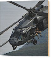 33rd Rescue Squadron, Osan Air Base Wood Print