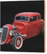 34 Ford Coupe Wood Print