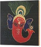 34 Ganadhakshya Ganesha Wood Print