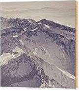 3.478 Meters Aerial Retro Wood Print