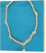 Aphrodite Gamelioi Necklace Wood Print