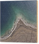 Observation Of Dead Sea Water Level Wood Print