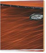 Riva Aquarama Wood Print by Steven Lapkin