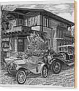 Mertz Runabout Wood Print