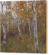 Oil Painting Wood Print