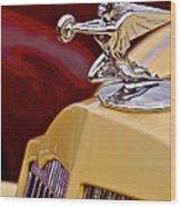 36 Packard Wood Print