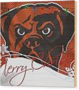 Cleveland Browns Wood Print
