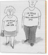 New Yorker November 29th, 2004 Wood Print