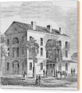 Washington, D Wood Print