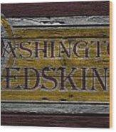 Washington Redskins Wood Print