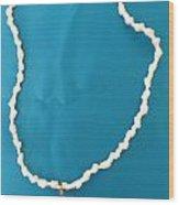 Aphrodite Gamelioi Necklace Wood Print