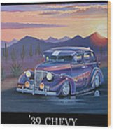 '39 Chevy Wood Print