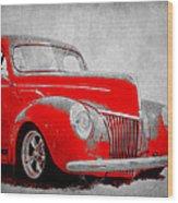 39 Ford Wood Print