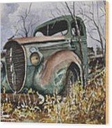 39 Ford Truck Wood Print