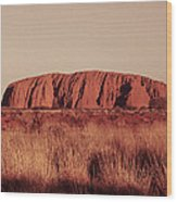 Uluru Wood Print